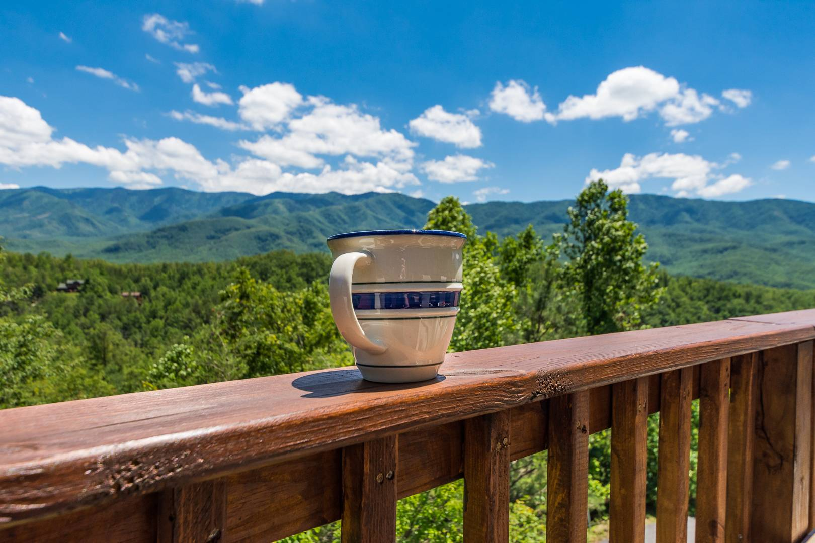 Smoky Mountain view from Cabin Rental
